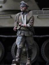 "1:35 ""German Officer"" Resin Figure Model Kit Unassambled Unpainted (W)"
