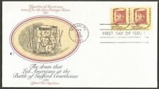 US FDC.US 1976 COLONIAL DRUM 7.9C STAMP #1615 -COIL FIRST DAY OF ISSUE COVER,FL