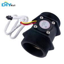 "DN50 G2"" Water Flow Hall Effect Sensor Switch Gauges Coffe Flowmeter Counter"