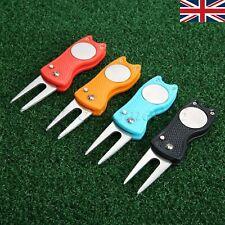 Protable Golf Divot Repair Tool Golf Clubs Fix Equipment Ball Marker Wholesale