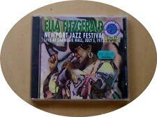 ELLA FITZGERALD LIVE NEWPORT JAZZ FESTIVAL 1973. CARNEGIE HALL. 2 cd set