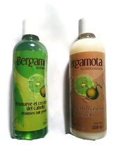 Set of Bergamot Shampoo and Conditioner 500ml, Help Hair Growth