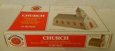 "Bachmann Plasticville Vintage ""0"" Scale Church Kit-Nice With Box!"