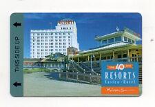 Resorts Casino Mohegan Sun Atlantic City Hotel Room Key Card