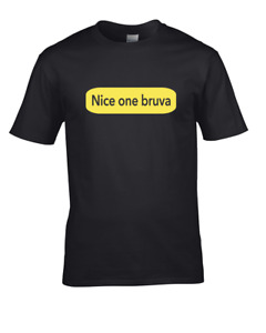 Nice One Bruva- Rave Scene Meme- Men's T-Shirt