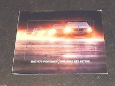 General Motors - Pontiacs - Catalogue langue anglaise - 1979