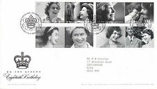 18 APRIL 2006 QUEEN 80th BIRTHDAY ROYAL MAIL FIRST DAY COVER BUREAU SHS