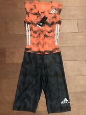 Adidas AZP SL Speedsuit US S Adizero Climachill Orange CD3147