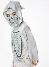 Halloween Boys Gruesome Ghost Reaper Fancy Dress NEW H17