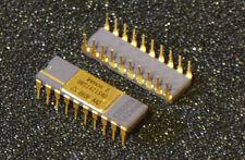 Vintage gold and purple ceramic static RAM, Inmos IMS1421S40   4Kx4