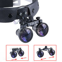 3.5X-R 420mm Dental Surgical Binocular Loupes Headband Optical Magnifier SALE
