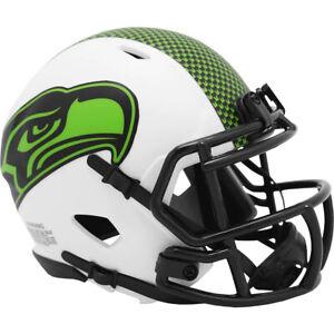 Seattle Seahawks NFL Lunar Eclipse Alternate Speed Mini Helmet