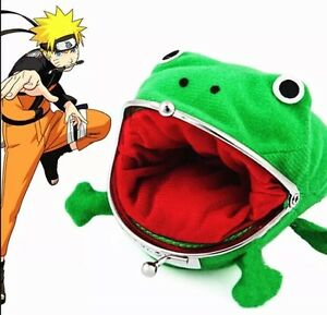 "Naruto Gama-chan Frog Toad Coin Purse Wallet 4"" US Seller"