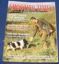SHOOTING TIMES MAGAZINE MAY 18-24 1989 - SPORT OVER THE WATER