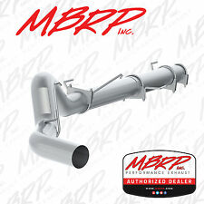 "MBRP S61180PLM 5"" CAT BACK DIESEL EXHAUST 04-07 RAM 2500 3500 5.9L NO MUFFLER"