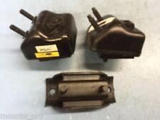 FL & FR Motor Mount & Trans Mount Set 3pcs for 1998-2001 Ford Ranger 3.0L, 4wd