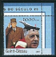 GUINEE BISSAU-DE GAULLE-CONCORDE- 2001-1 timbre neuf dentelé