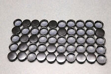 50x 33mm 33-400 Black Phenolic Bottle Cap Screw On Lid Taperseal Sealed Liner