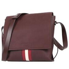 91289d081cd93 Bally Men's Chestnut Leather Shoulder Crossbody Bag Brant 11 ( 195) W/tag