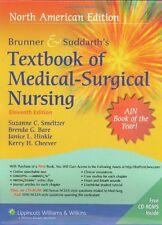 Brunner & Suddarths Textbook of Medical Surgical Nursing, 11th Edition (2 Volum