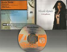 NICOLE RENEE Telephone w/ RARE RADIO EDIT PROMO DJ CD Single 1998 USA PRCD 8825