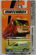 VW VOLKSWAGEN CADDY GREEN VAN 45 DELIVERY LNCS 2009 MB MBX MATCHBOX