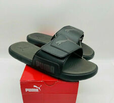 PUMA Mens Starcat Tech Slide Sandals - Black