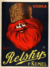 Relsky Vodka Original Vintage Poster by Leonetto Cappiello c.1925 Large Format