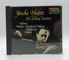 Jascha Heifetz ~ The Decca Masters CD