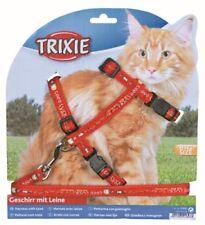 Trixie Harnais Chat avec Laisse XL Motifs Nylon 34-57 C