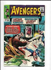 THE AVENGERS #18 ==> FN/VF QUICKSILVER & SCARLET WITCH MARVEL COMICS 1965