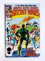 MARVEL SUPER HEROES SECRET WARS # 11 Marvel Comics Face Of Dr. Doom NM- 1985