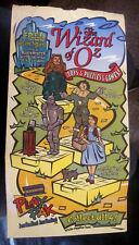 1998 Blockbuster Video Rental Wizard of Oz Paper Bag PLUS Marshmallow Snacks Bag