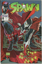 Spawn #8 Fn+ Feb 1993 1st Vindicator Alan Moore Todd McFarlane Image Comics