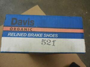 1984 Fits Oldsmobile Ciera Rear Drum Brake Shoe Set 521 BP-24