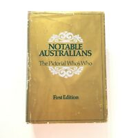 Notable Australians The Pictorial Who's Who 1978 1st Edition Hardcover