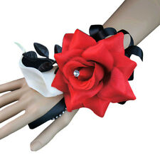 Wrist Corsage-Artificial Rose,Calla lily-wristlet included.