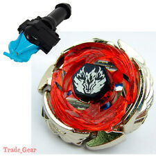 BB121A WING PEGASIS BEYBLADE Masters Fusion Metal Fight+GRIP+BLUE SPIN LAUNCHER
