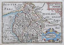 WESTMORLAND & CUMBERLAND Pieter Van Der Keere 1627 - 1676 Genuine Antique Map