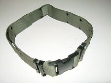 US ARMY Military SURPLUS Equipment Pistol Web Belt Green Black Buckle MEDIUM