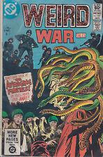 DC comics book WEIRD WAR TALES # 107 jan 1982 [ A3 ]