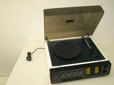 antiguo DDR Placa giratoria SET 4001 Robotron Radio Amplificador Sintonizador