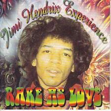 Jimi Hendrix Experience – RARE AS LOVE-fabby 275-UK 2000