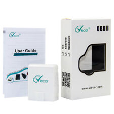 ELM327 Viecar VC100 OBD-II Bluetooth 4.0 Scanner for Multi-brands with Car HUD