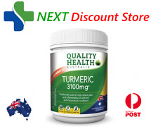 Quality Health Turmeric 3100mg 100 Tablets