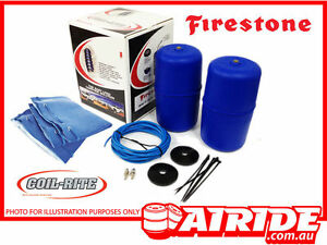 2014 - 2016 NISSAN X-TRAIL T32 FIRESTONE COIL RITE AIR ASSIST KIT HP