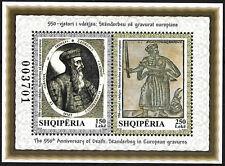 ALBANIA 2018 - The 550th Anniversary of Death: Skanderbeg in European gravures -