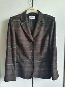 Delmod Tweed Ladies Trouser Suit - Never Worn - Size 16