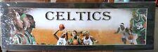 Boston Celtics 34 Paul Pierce 9 Rajon Rondo 20 Ray Allen Custom Print Black Mat