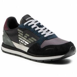 Scarpe Sneaker Emporio Armani Shoes Uomo Nero X4X215 XL200 N064